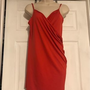 Wrap around cover up red Small worn once